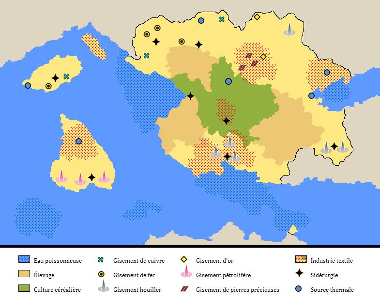La Carte de la République d'Ostaria Carte-aldarnor2-4eb4f4e