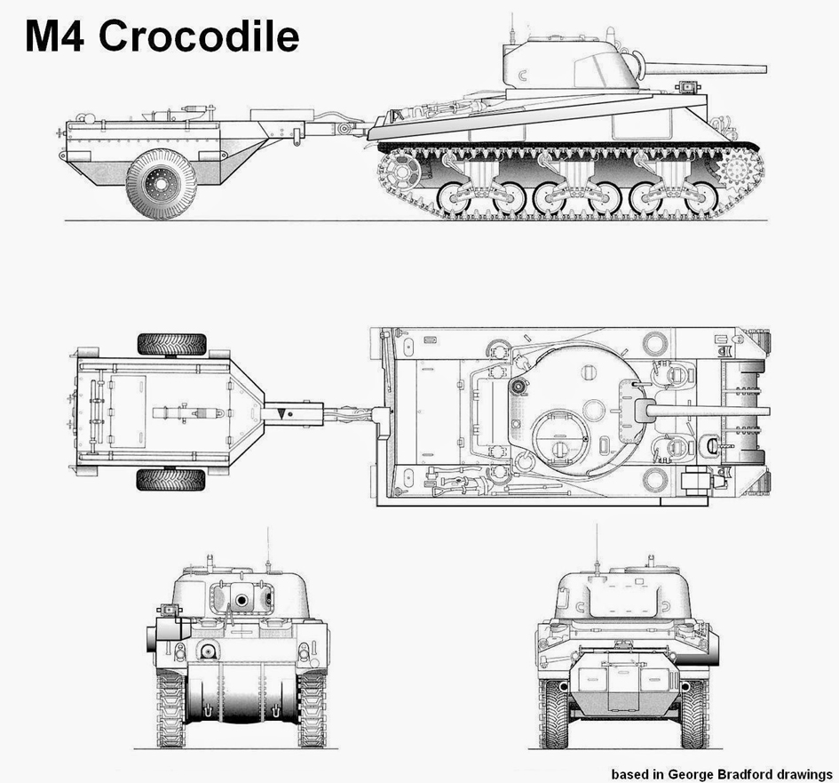 "Sherman M4 "" Crocodile "" 1/16 Heng Long et Scratch M4-crocodile-005b-4a79c52"