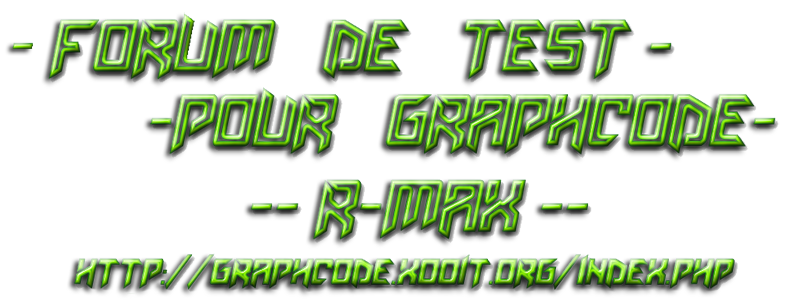 -r-max-test- Index du Forum
