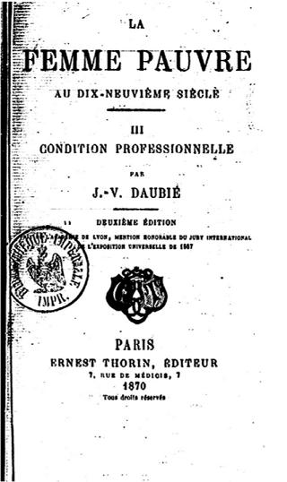 Une petite histoire par jour (La France Pittoresque) - Page 12 La-femme-pauvre-a...e-siecle-54f1b7c