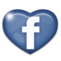 AnnuHandi, Annuaire handicap Facebook-coeur-bleu-5038251