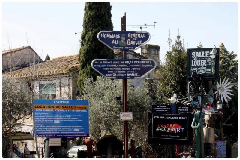 Les photos de francis une balade entre salon de for Geant casino drive salon de provence