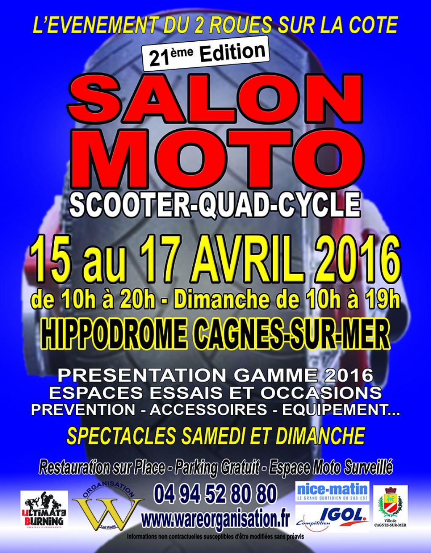 Pcx club france salon de la moto et du scooter 2016 cagnes sur mer - Salon moto cagnes sur mer ...