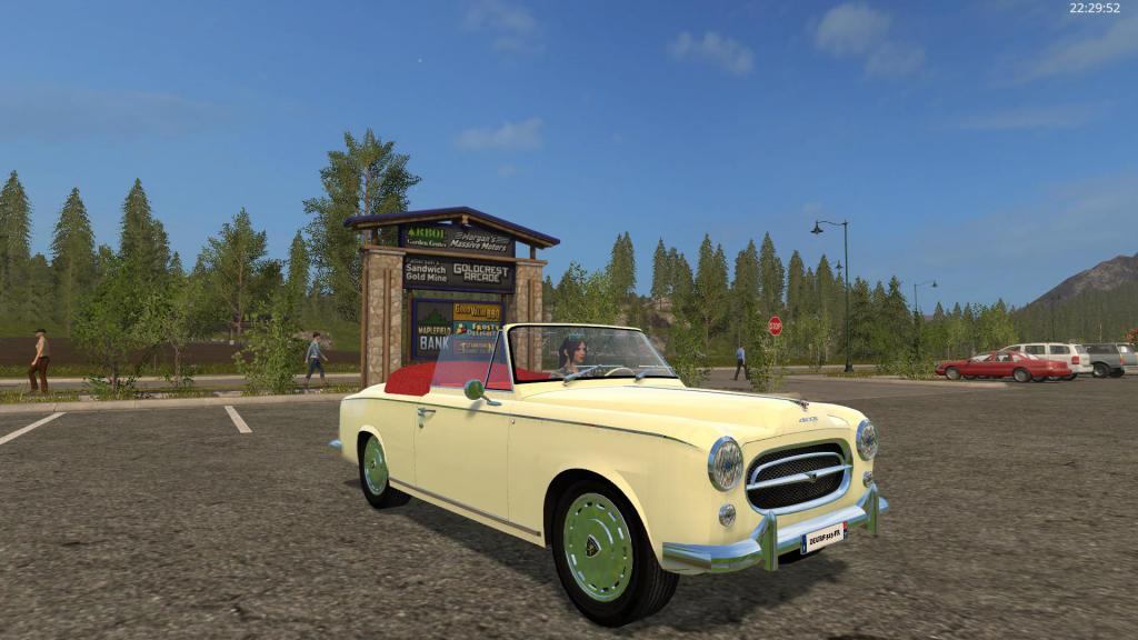farming simulator forum fs17 peugeot 403 7 cabriolet. Black Bedroom Furniture Sets. Home Design Ideas