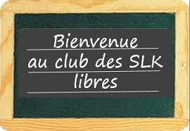 Bonjour au Club SLK