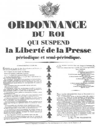 Une petite histoire par jour (La France Pittoresque) - Page 11 1830charles10presse-54d978c