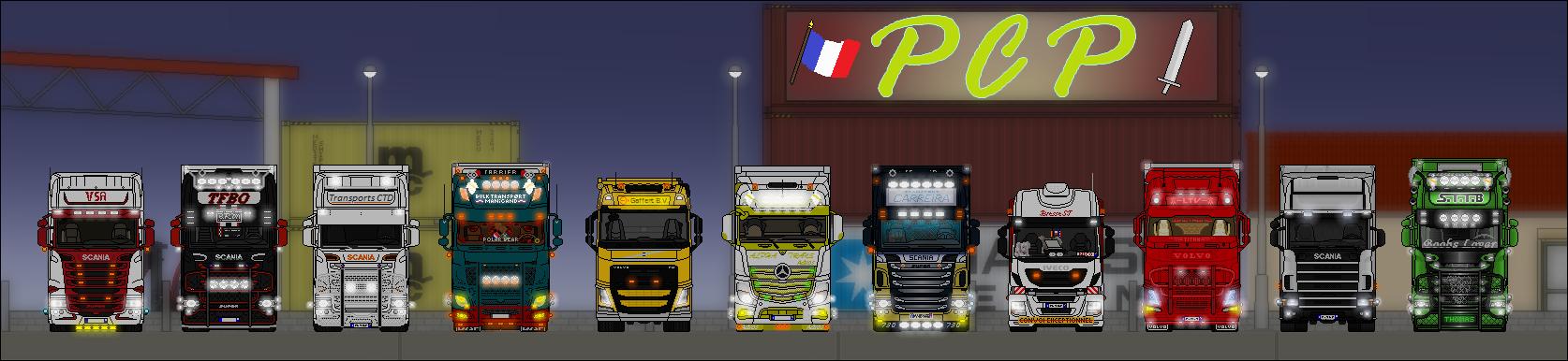 les petits camions de paint    photos et vid u00e9os de convois