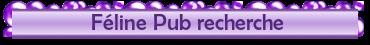 Code de la fiche publicité de Féline Pub  Felinepubrecherche-5595acf