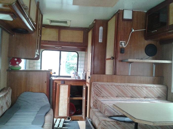 C25 j5 ducato et d riv s pr sentation de mon cc pilote for Interieur de camping car