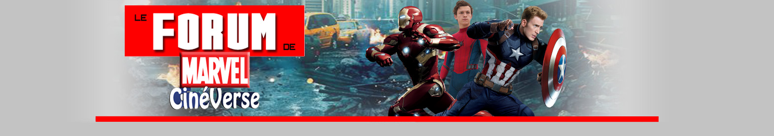 Marvel CinéVerse FORUM Index du Forum