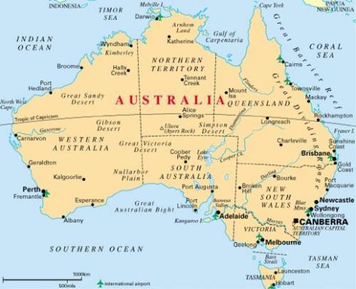 Carte Geographique Australie Gratuit Grand Format.Tac Toulouse Aquario Club Le Biotope Oceanien