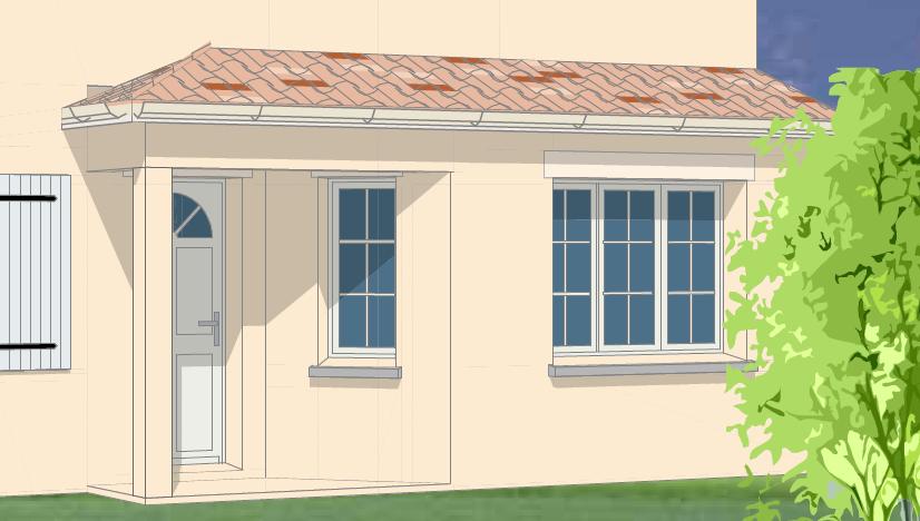 allplan forum comment r aliser une toiture appentis. Black Bedroom Furniture Sets. Home Design Ideas