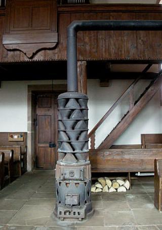 Outils anciens art populaire poele d 39 atelier de for Poele a bois de dietrich
