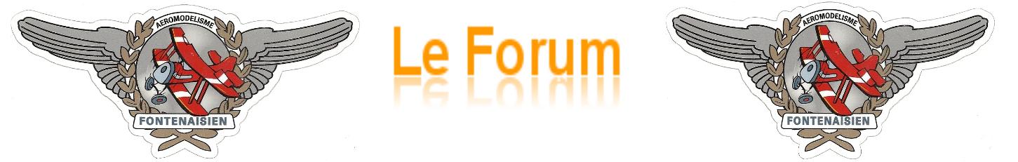 aeromodelisme fontenaisien  Index du Forum