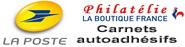 La Poste - Carnets autoadhésifs