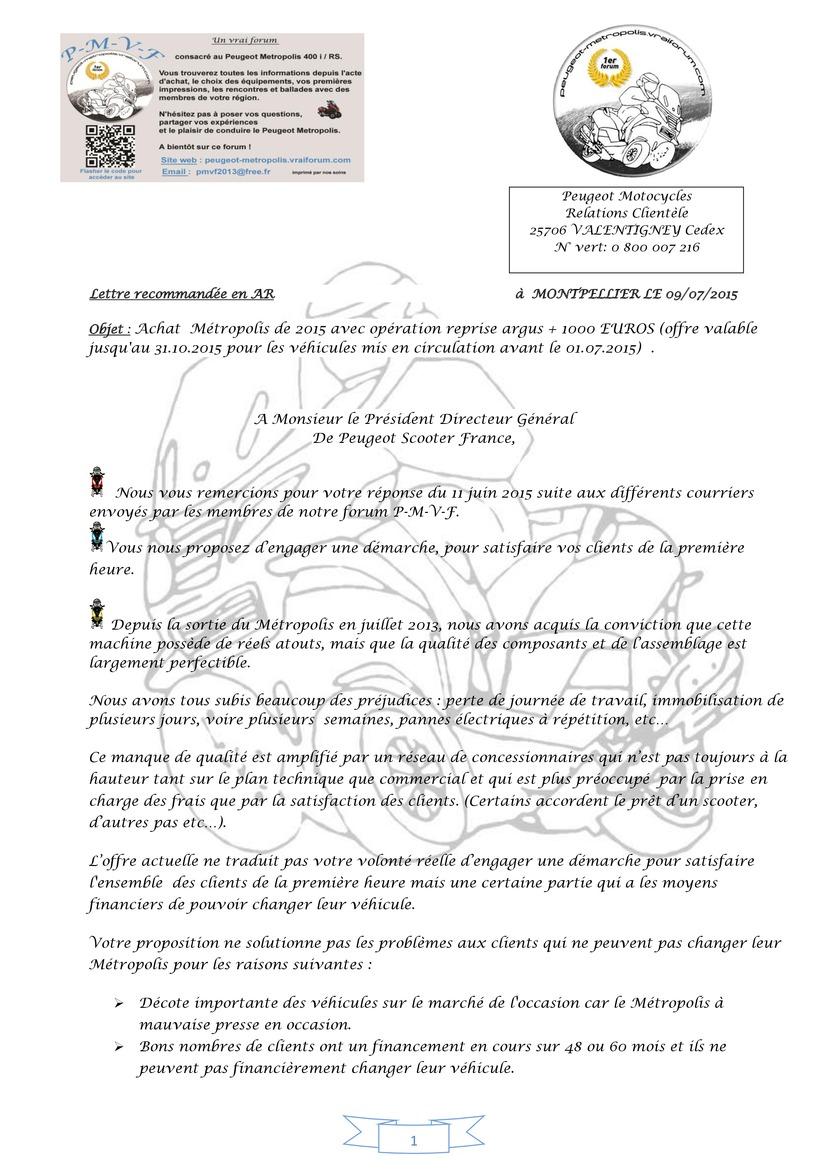 Réponse au courrier de Mr FABRE PDG  Lettre_psf_la_rep..._0-page1-4bf5699