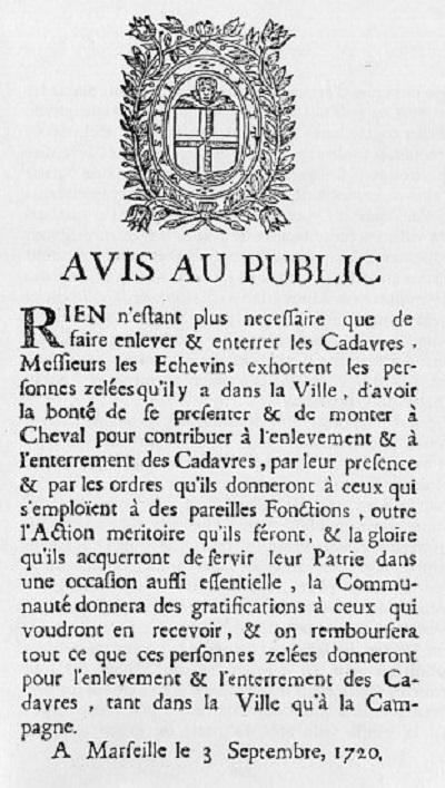 Une petite histoire par jour (La France Pittoresque) - Page 7 Avis_au_public_ma...lle_1720-54882d1
