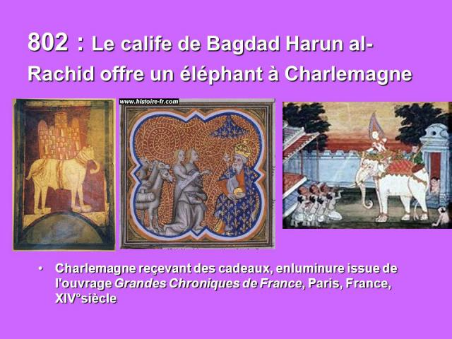 Une petite histoire par jour (La France Pittoresque) - Page 5 802-le-calife-de-...rlemagne-542de9e