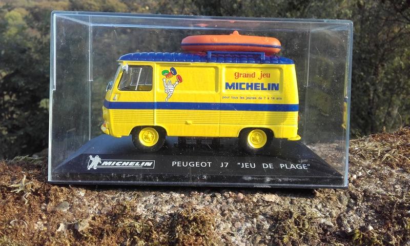 Toys & Games Cars, Trucks & Vans PEUGEOT J7 van MICHELIN PUBLICITAIRE Modèle Échelle 1/43RD Comme neuf Emballé