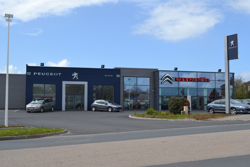 Citrowest les chevrons bretons garages concessions et for Garage citroen saint chamond route de lyon