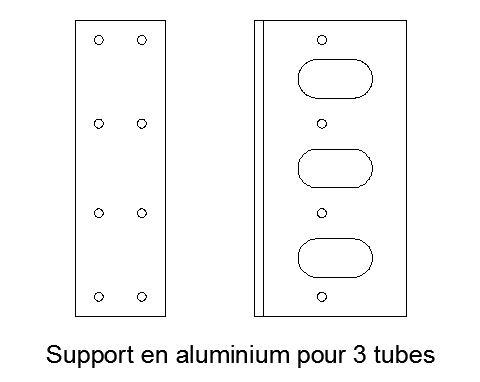 cherche pièce qui tient le haut du radiateur S1  Support-3-tubes-4c30170