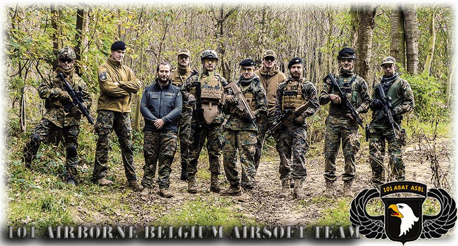 101 Airborne Belgian Airsoft Team asbl Index du Forum