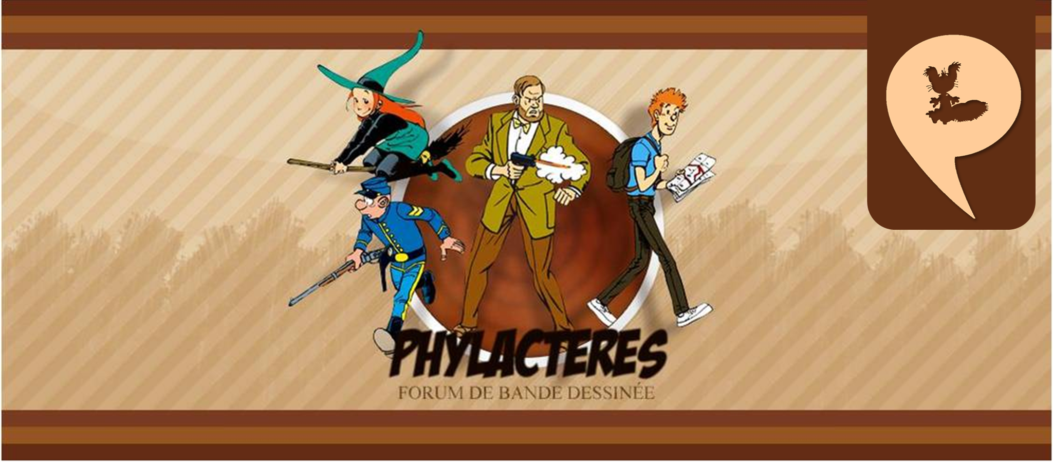 Phylactères Forum Index