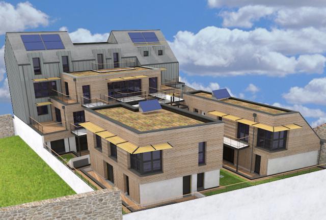 Allplan forum maquette bim d 39 or 10 logements for Logiciel maquette 3d