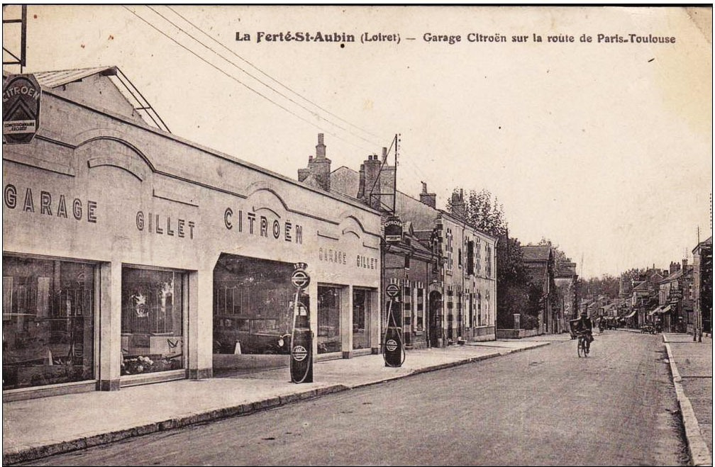 Citrowest les chevrons bretons garages concessions et for Garage ad la ferte saint aubin