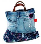 Les f es tisseuses sac en jean - Faire un sac avec un jean ...