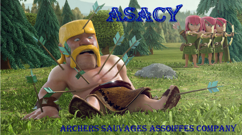 ASACY Archers Sauvages Assoiffés Company Index du Forum