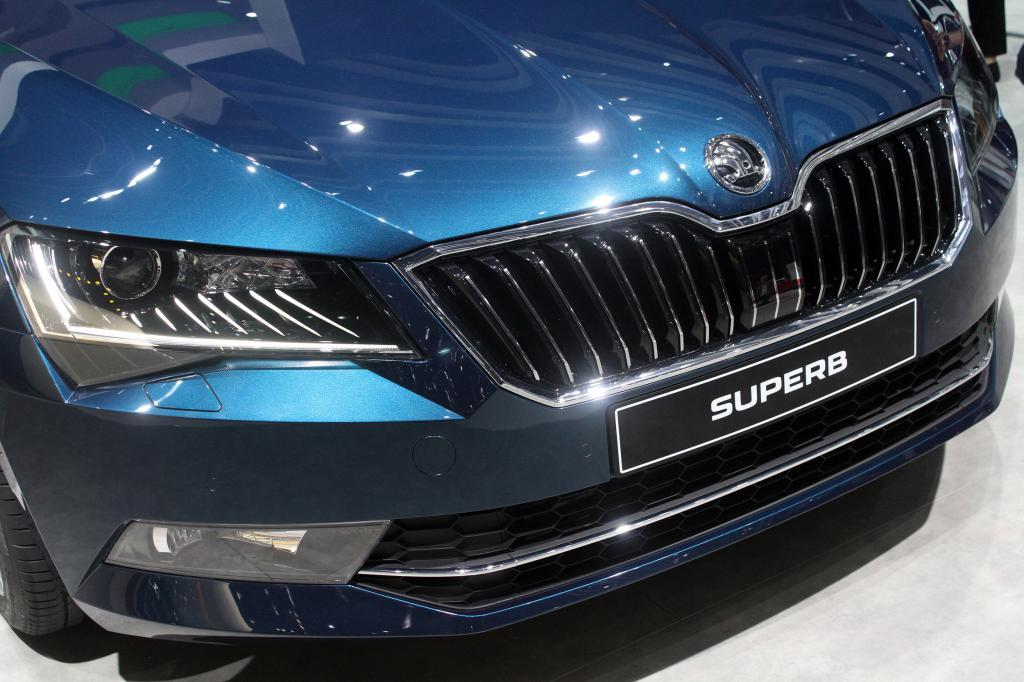 Skoda superb configurateur