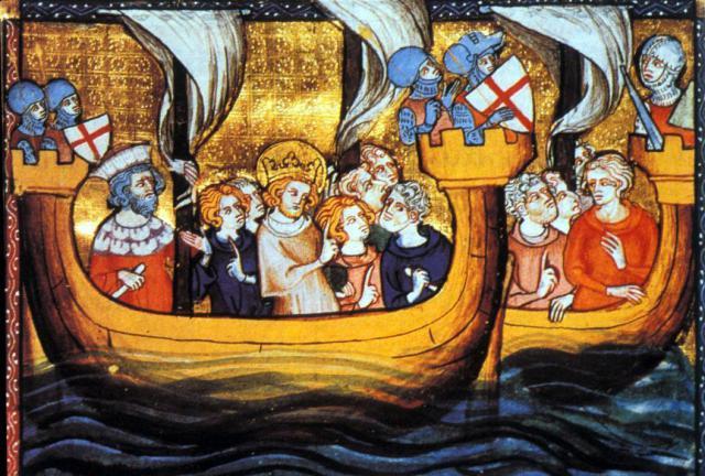 Une petite histoire par jour (La France Pittoresque) - Page 13 Seventh_crusade-54fbde2