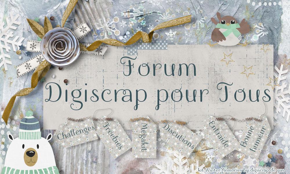 Digiscrap Pour Tous Index du Forum