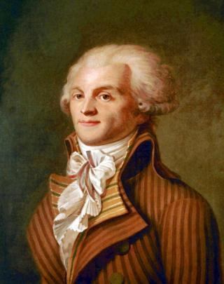 Une petite histoire par jour (La France Pittoresque) - Page 11 Robespierre-54dac19