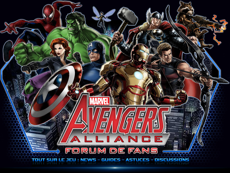 Marvel Avengers Alliance • Marvel Futur Fight • Dc Legends Index du Forum