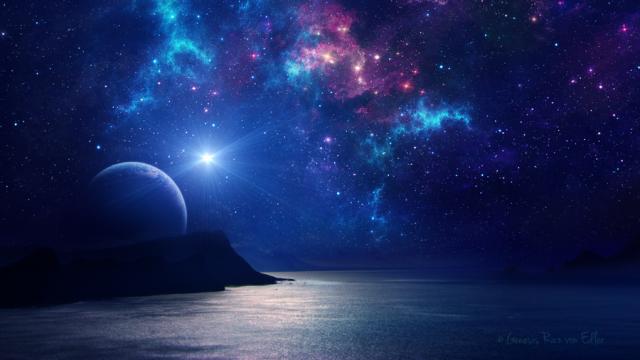 Night Wallpaper No Logo By Ualgreymon On Deviantart: NousNeSommesPasSeuls :: Les Plus Belles Images Du Cosmos