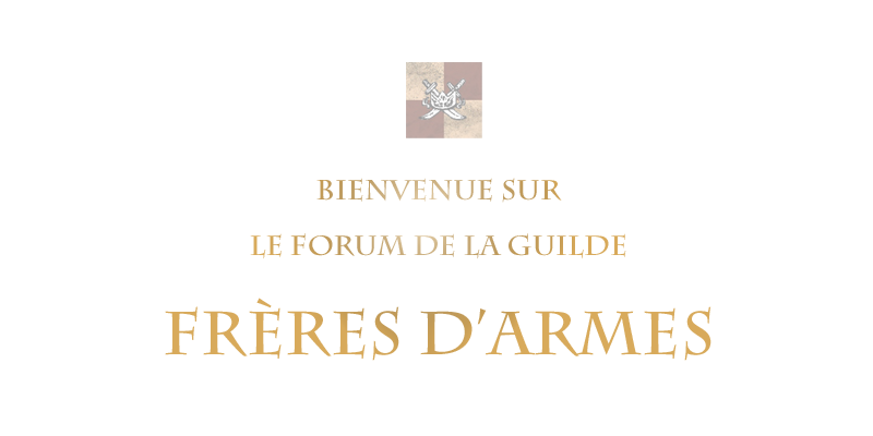 Frères D'Armes Index du Forum