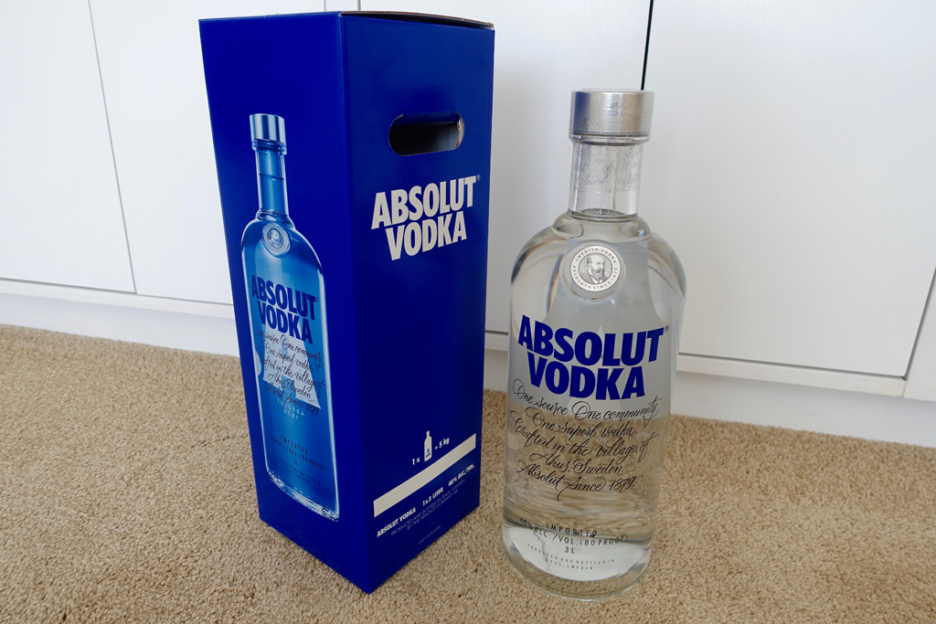 Absolut vodka Forum :: Absolut Blue Label   1979   Worldwide