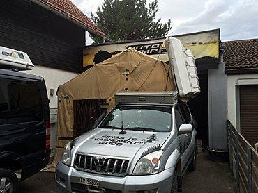 Coffre De Toit Tente : france bivouac et tourisme pr sentation tente de toit ikamper reportage photos skycamp ~ Mglfilm.com Idées de Décoration