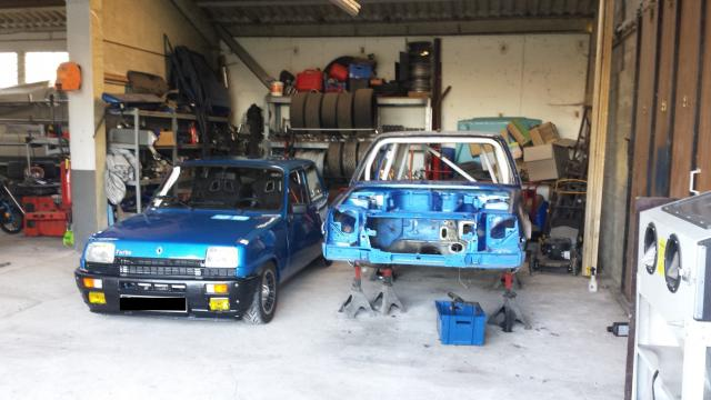 Renault r5 gt turbo restauration et pr paration clio for Garage renault evrecy 14