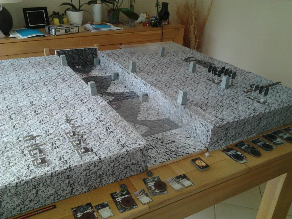 Star wars x wing premiere bataille de l 39 etoile noire dans le 37 - L etoile noire star wars ...