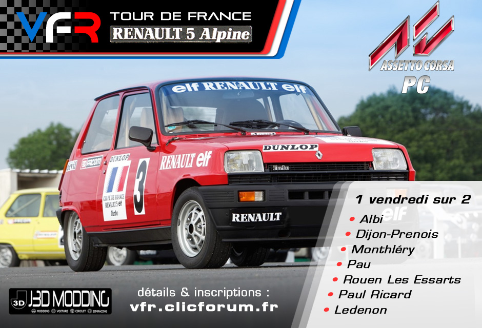 Championnat Renault 5/Assetto Corsa (PC) Affiche-r5-531e461