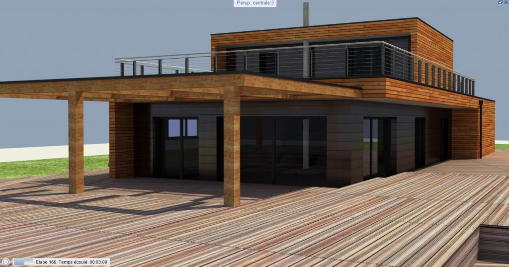 allplan forum maison en bois. Black Bedroom Furniture Sets. Home Design Ideas