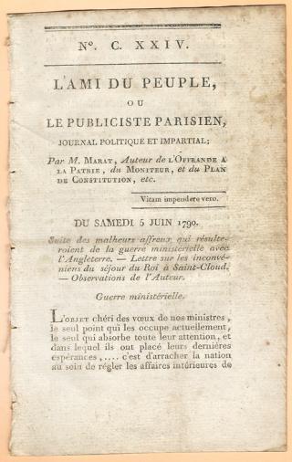 Une petite histoire par jour (La France Pittoresque) - Page 10 L-ami_du_peuple-54ca5d1