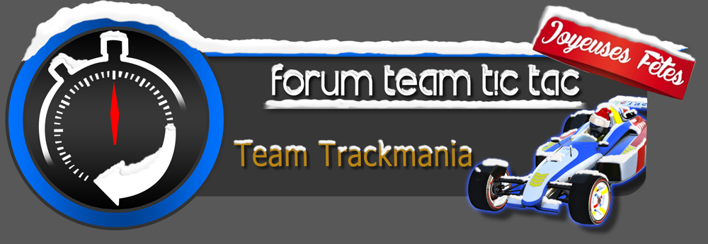 TicTac Team Trackmania United/Nation Forum Index