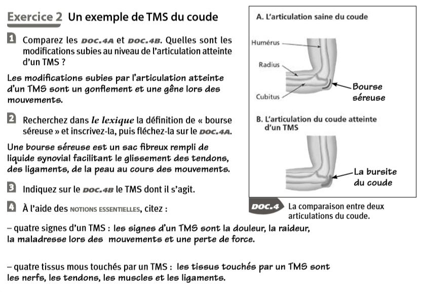 Les Tiroirs De La Pse Correction Exercices De Revision 6