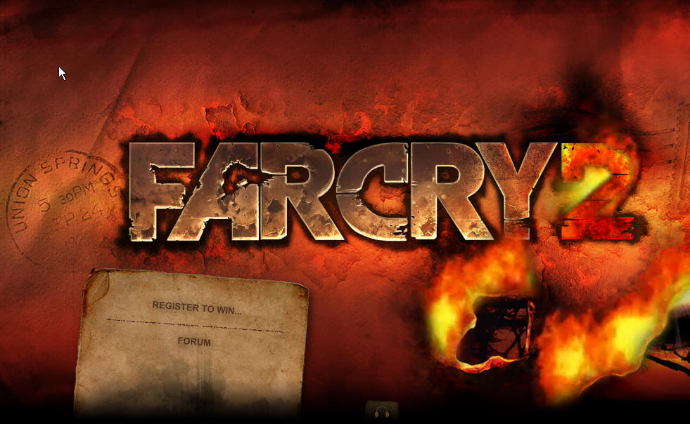 far cry 2 man Index du Forum