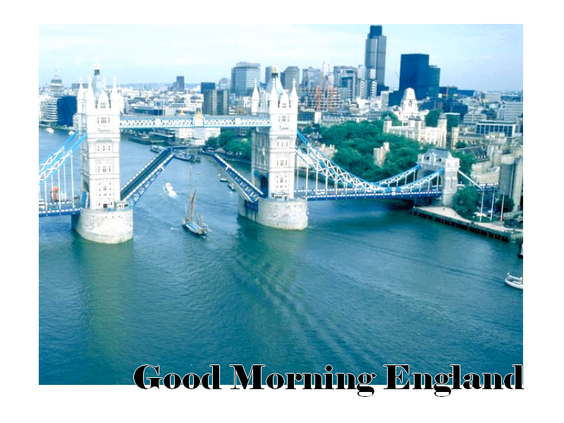 Good Morning England. Index du Forum