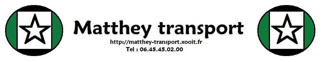 Matthey-Transport Index du Forum
